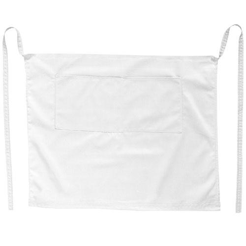 Tablier de bar publicitaire blanc tacom - tablier de cuisine personnalisé