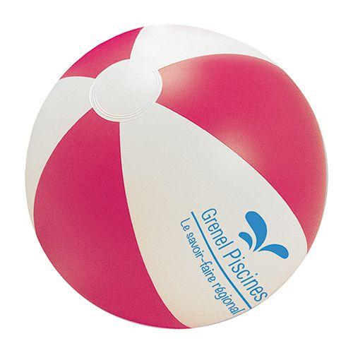 goodies  - ballon de plage personnalisé Rio rose