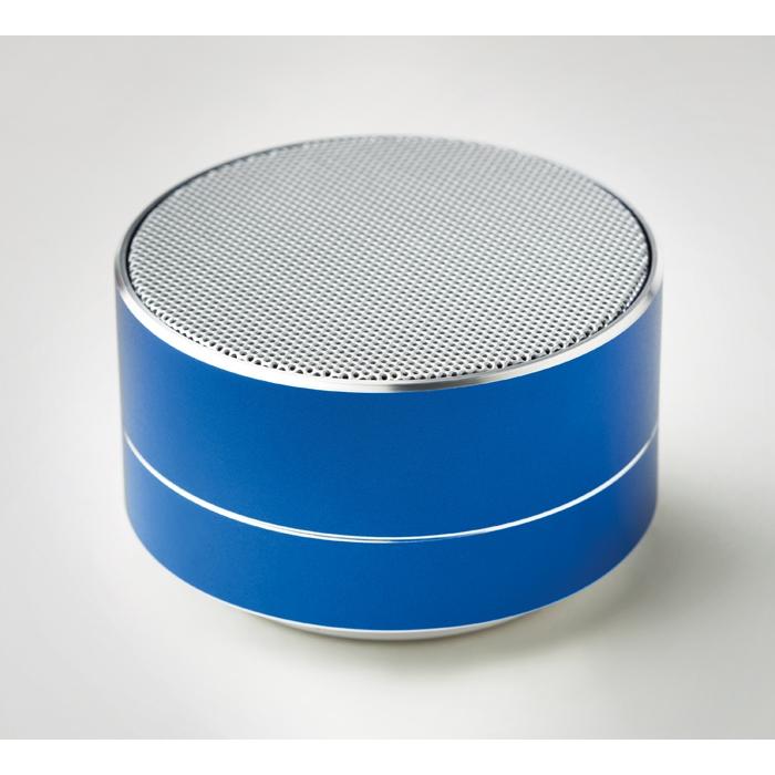 Cadeau d'entreprise - Haut-parleur Bluetooth® personnalisé rond Sound