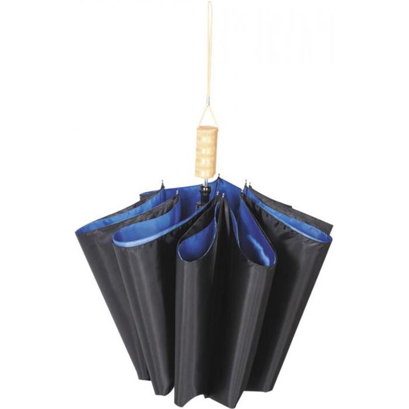 """Parapluie publicitaire automatique 21"""" Blue skies - cadeau d'entreprise"""