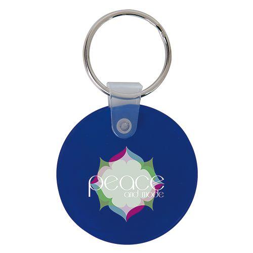 Porte clé personnalisé en plastique souple - porte clef pas cher