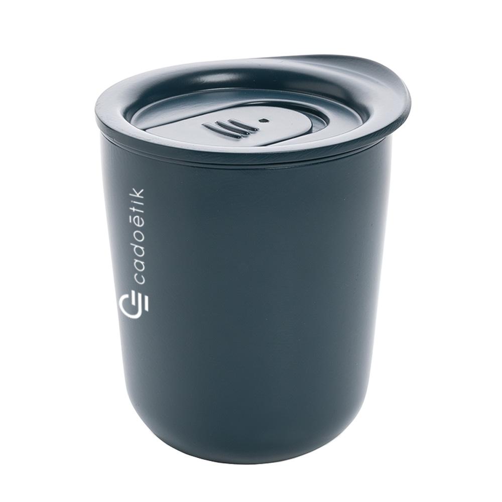Mug isotherme publicitaire en inox Biomaster 250 mL 1