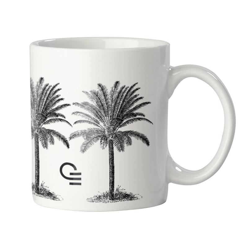 Mug personnalisable en porcelaine blanche Oslo 300 ml