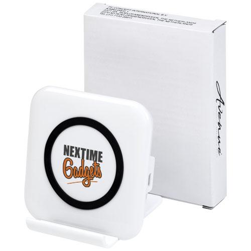cadeau entreprise marquage logo - chargeur de téléphone et support Catena