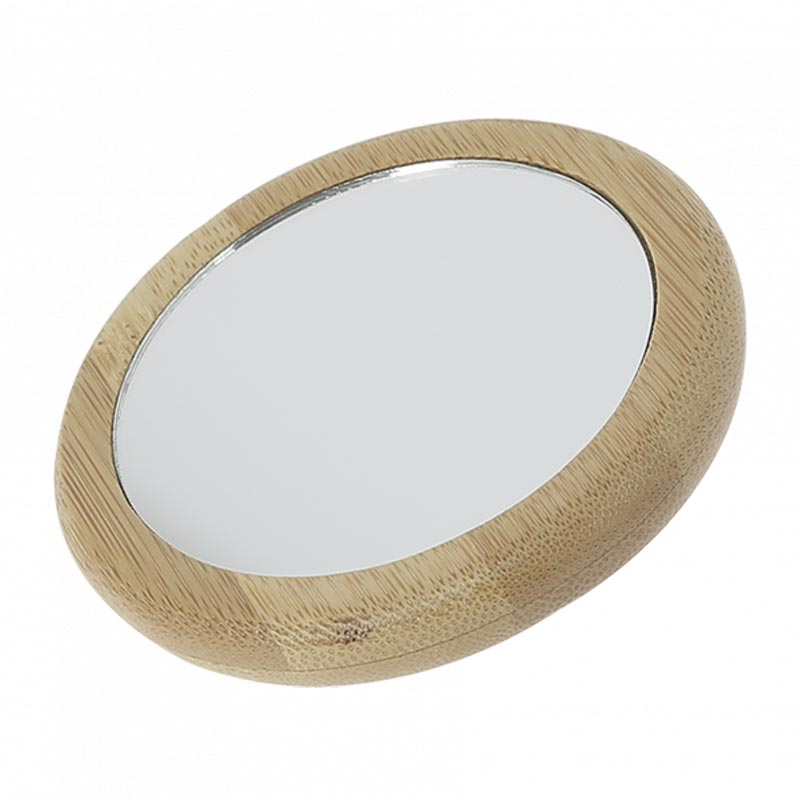 miroir en bambou une face