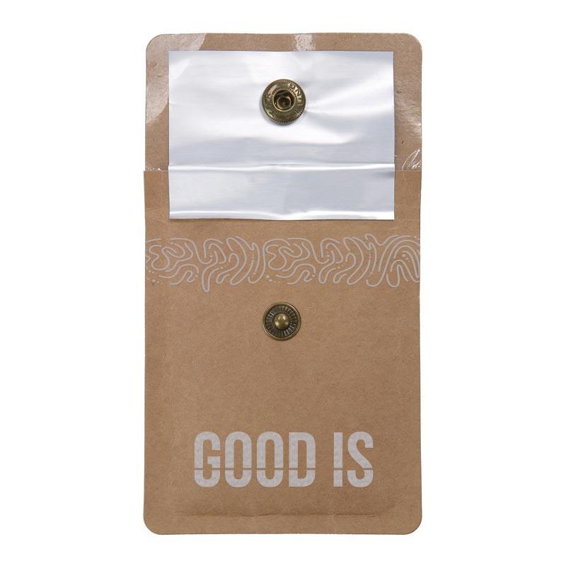 Cendrier de poche publicitaire en papier Cendkra - Intérieur