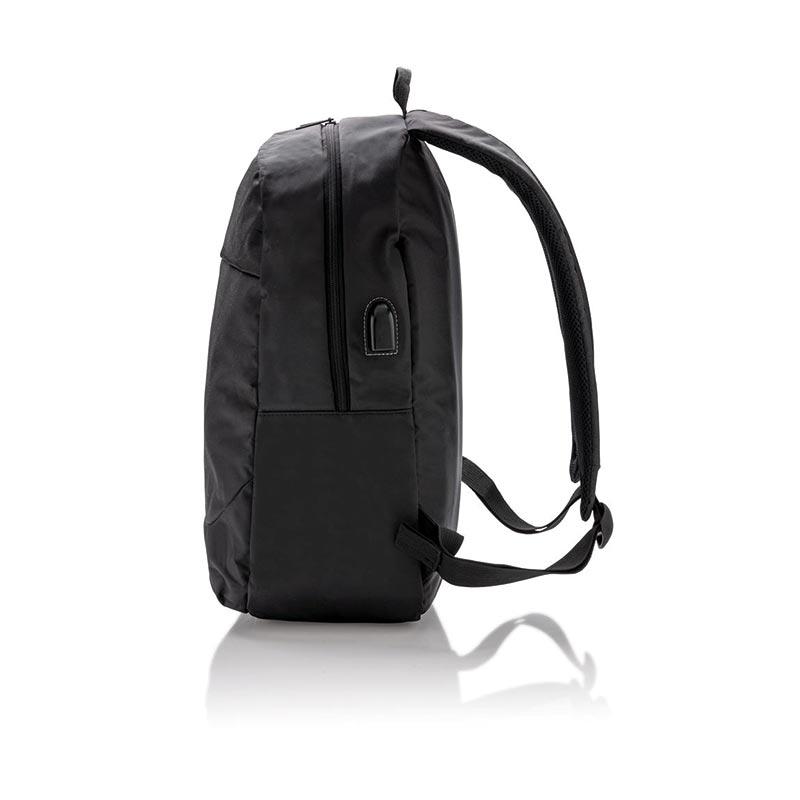 Cadeau d'entreprise - Sac à dos pour ordinateur personnalisable avec prise USB Tool