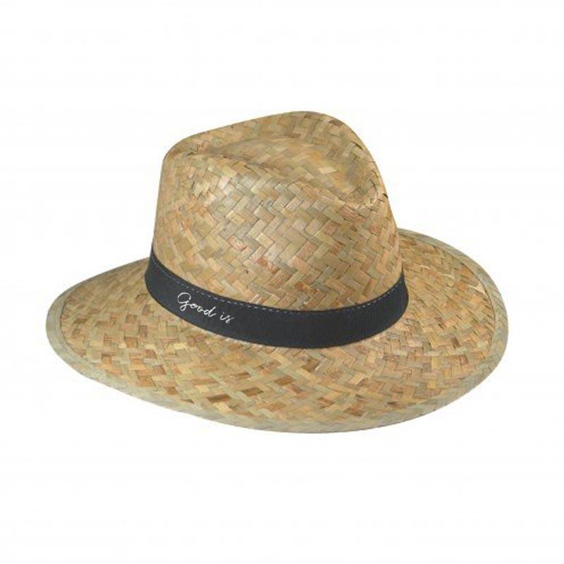 Chapeau de paille personnalisé Doulos - Cadeau d'entreprise écologique