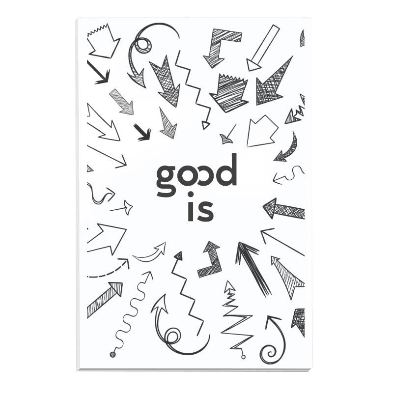 Bloc-notes promotionnel BIC® 50 x 75 mm Sheet adhésives Notepads Ecolutions® - bloc-notes personnalisables