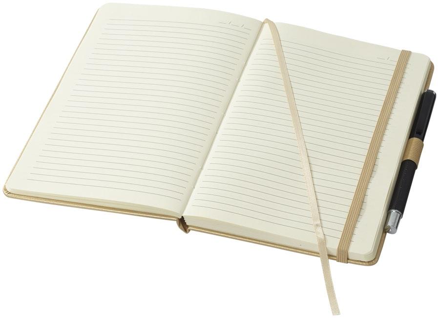 Carnet publicitaire A5 Gild avec 96 feuilles couleur crème