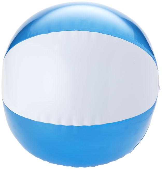 Objet publicitaire outdoor - Ballon de plage personnalisé Bondi - bleu
