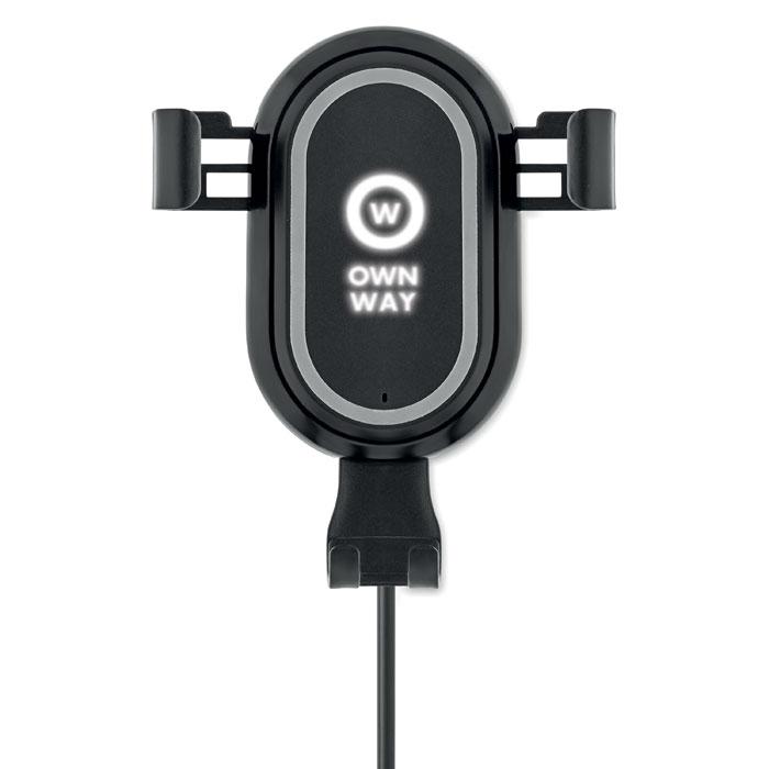 Chargeur pour voiture publicitaire et support Laus - cadeau d'entreprise