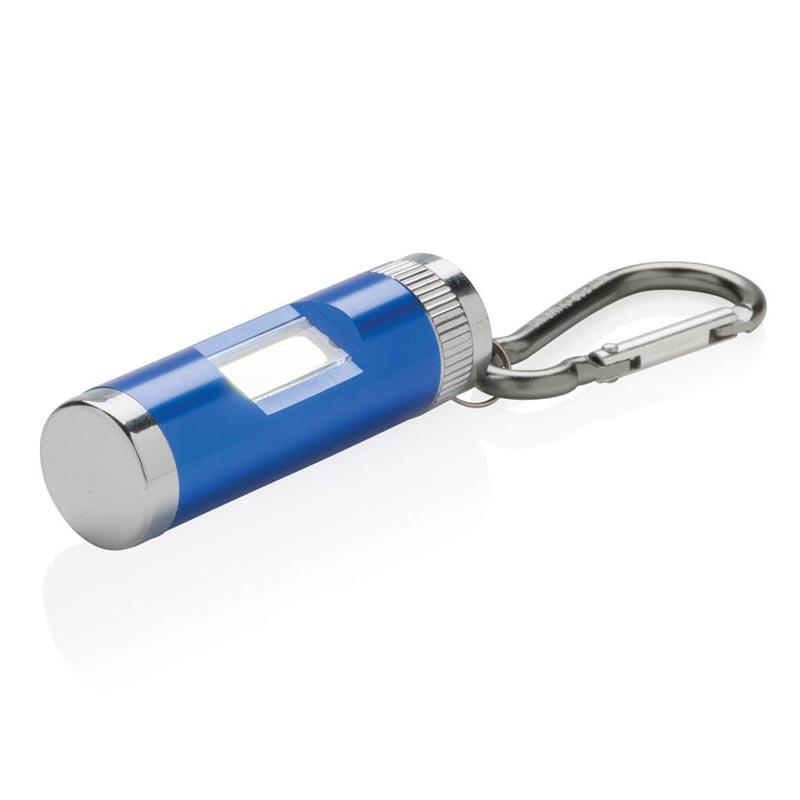 Lampe torche personnalisable Seven bleu