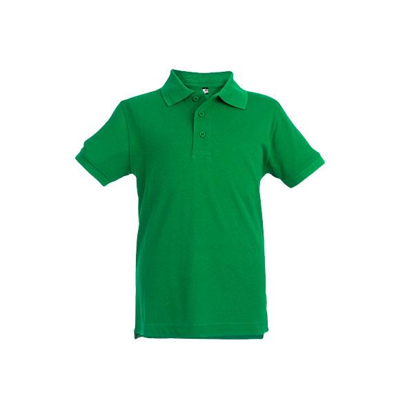 Textile publicitaire - Polo publicitaire enfant unisexe Adam Color - rouge