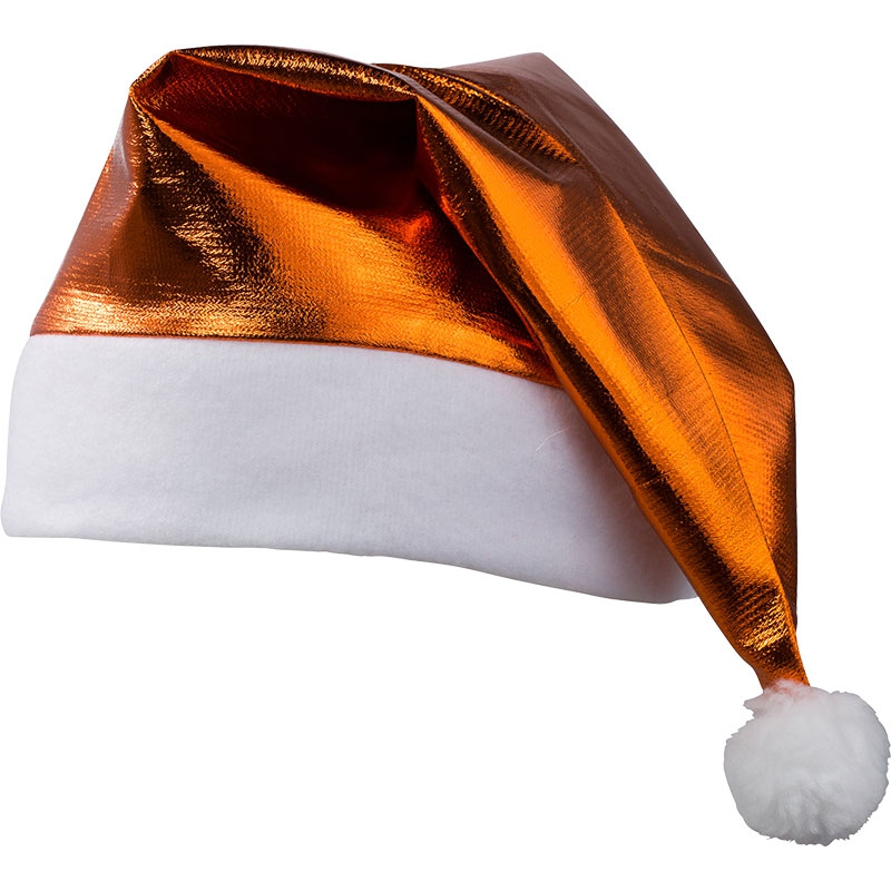 Goodies - Bonnet de père Noël brillant publicitaire - argent