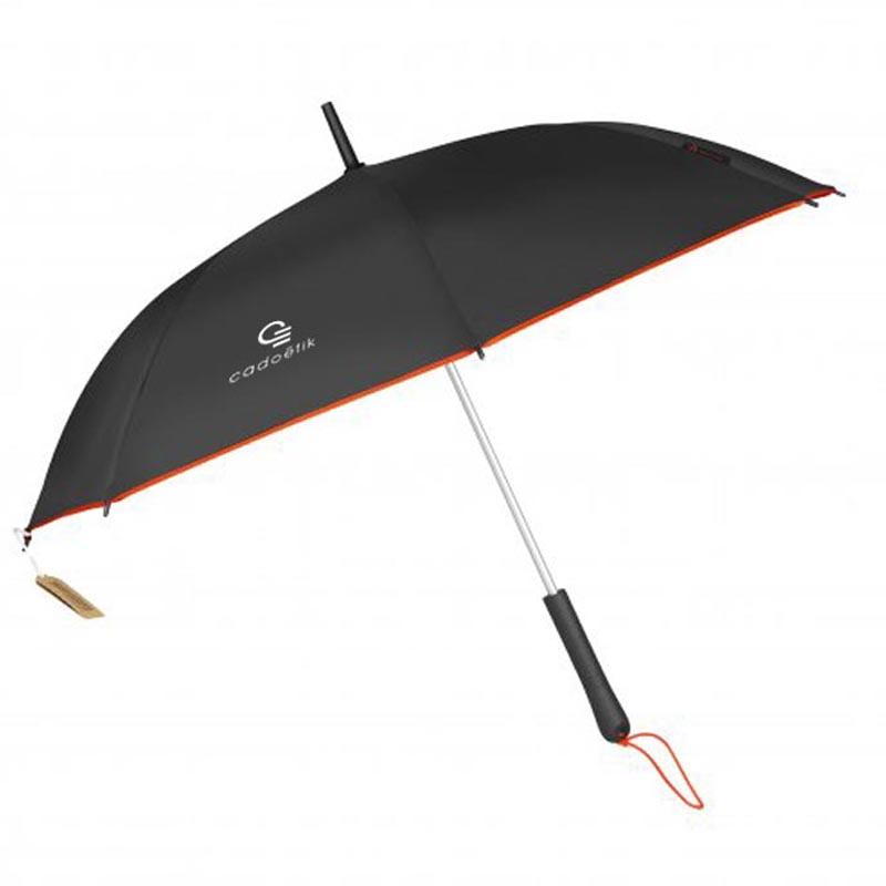 Parapluie publicitaire écologique RPET Andromède - Cadeau entreprise écologique