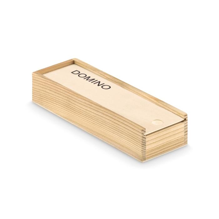 Objet promotionnel - Jeu de domino dans une boite Domino