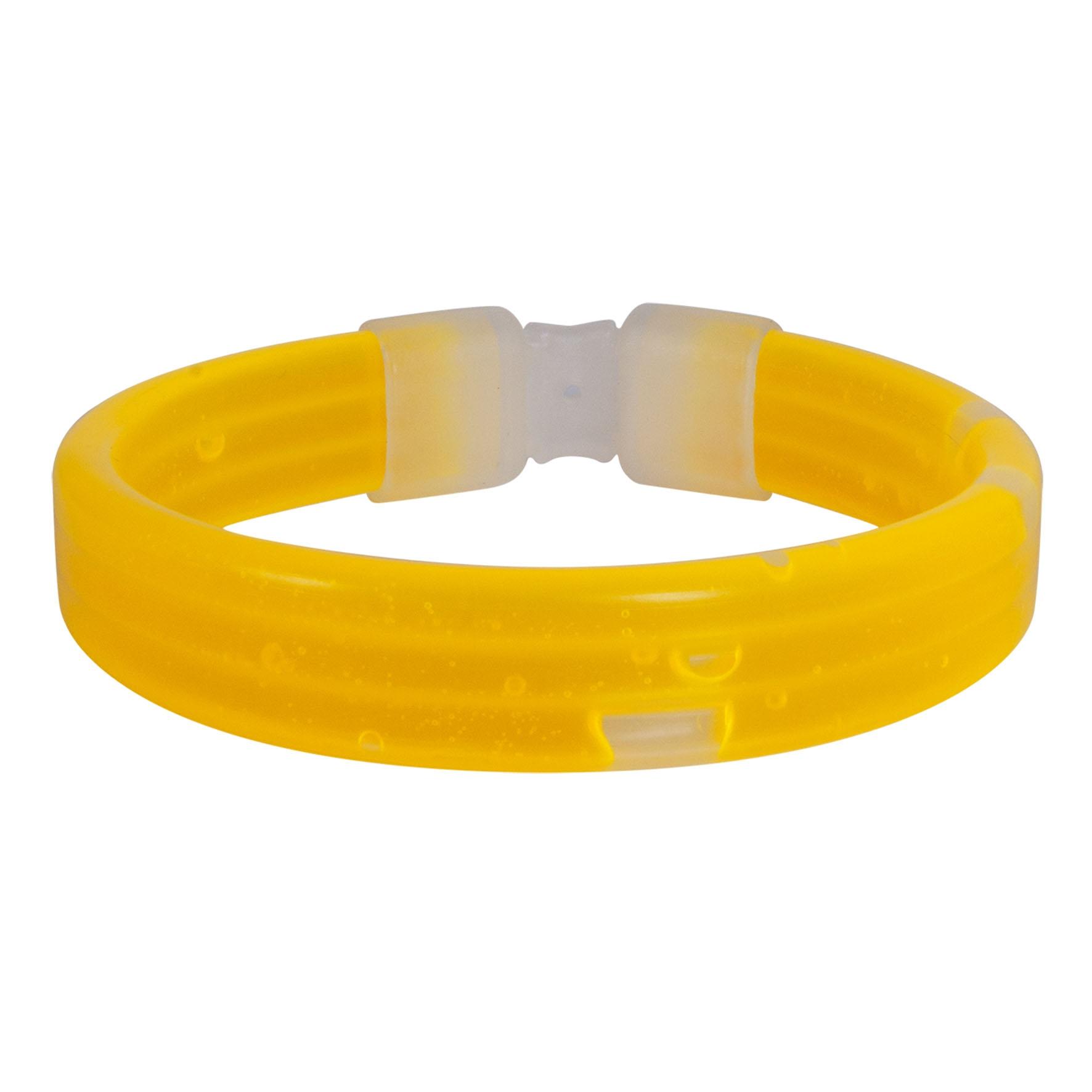Goodies-Gadget - Bracelet lumineux publicitaire Eclat  - rouge