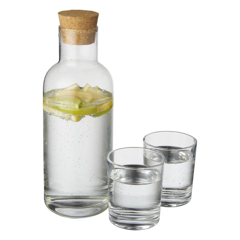 Set carafe et verres publicitaires Lanee - Goodies entreprise