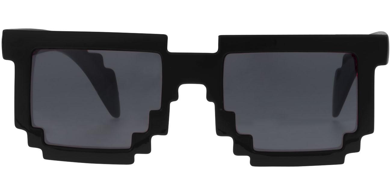 Lunettes de soleil publicitaire Pixel - noir