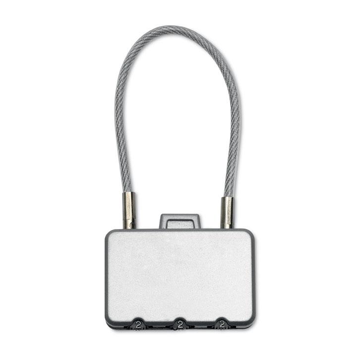 goodies entreprise - cadenas à valise publicitaire Threecode