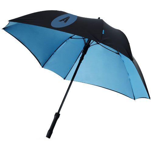 """Parapluie carré 23"""" bleu et noir"""