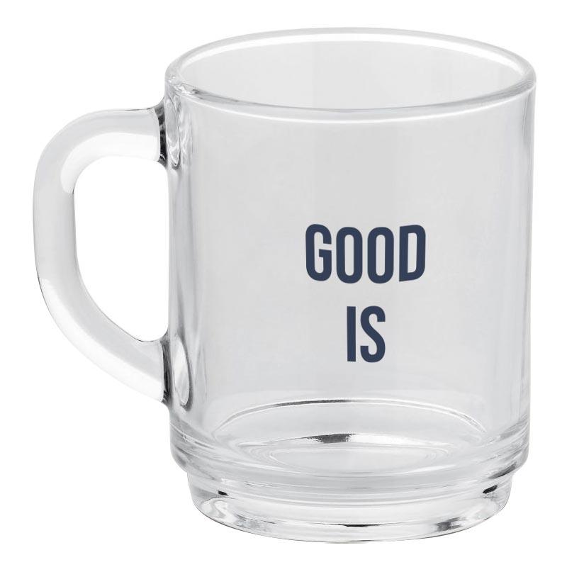 Mug promotionnel transparent New Delhi - objet publicitaire