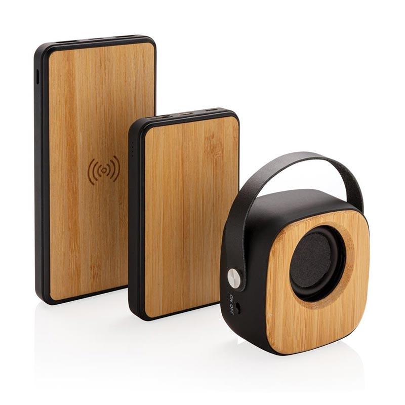 Enceinte en bambou 3W Eyewood
