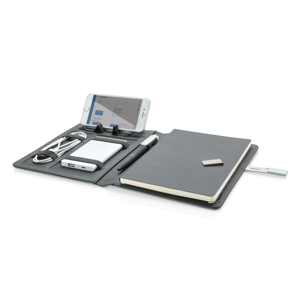 Carnet publicitaire A5 Kyoto clé USB 16Go - cadeau d'entreprise