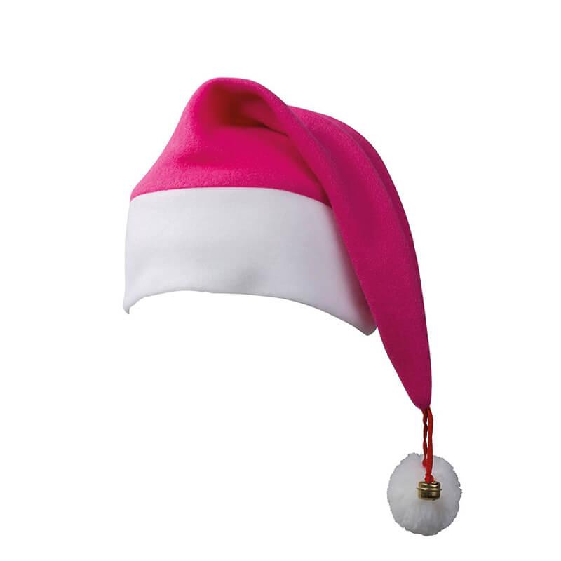 Bonnet de père Noël personnalisable à pompom