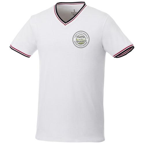 textile publicitaire - tee-shirt publicitaire col v Elbert