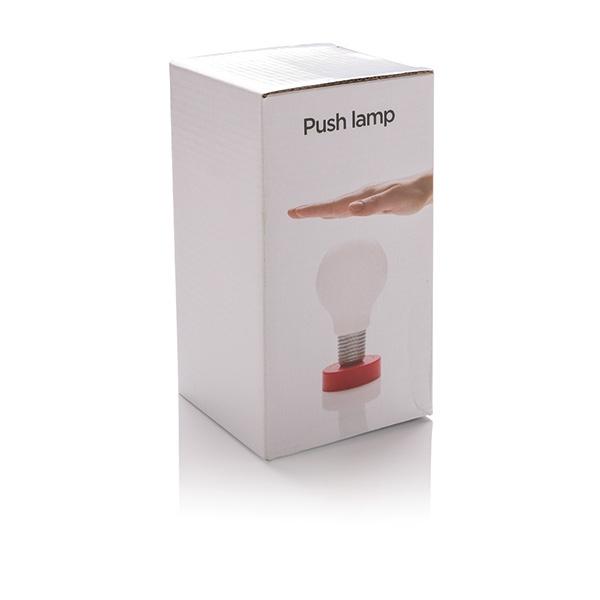 Lampe personnalisable à LED à poussoir Take