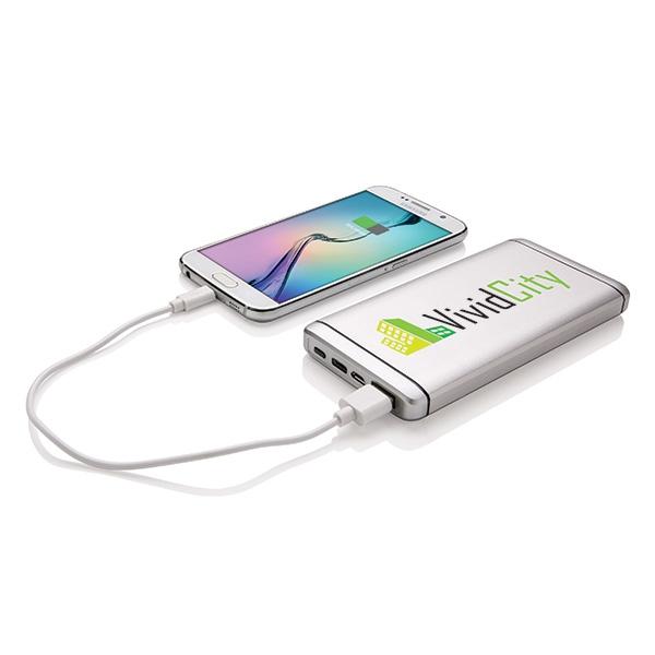Batterie de secours publicitaire 10000mAh Rexy - cadeau d'entreprise high-tech
