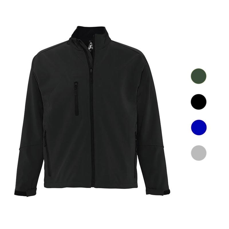 Veste softshell publicitaire zippée homme Relax - Coloris disponibles