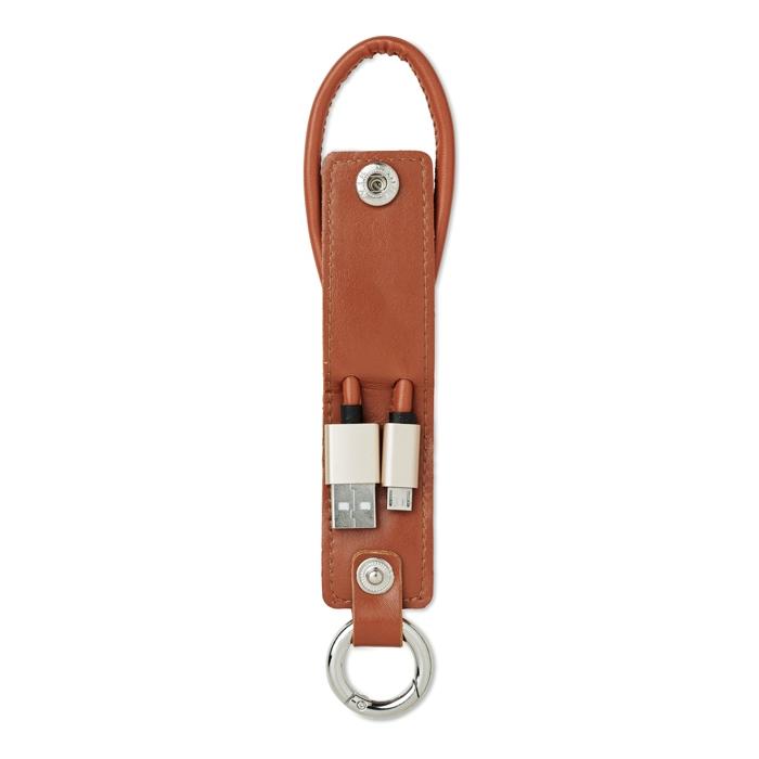 Porte clés publicitaire avec 3 câbles Liso