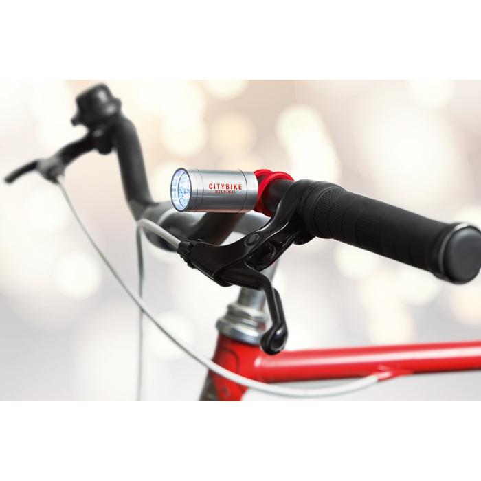 Lampe torche publicitaire Glow pour vélo