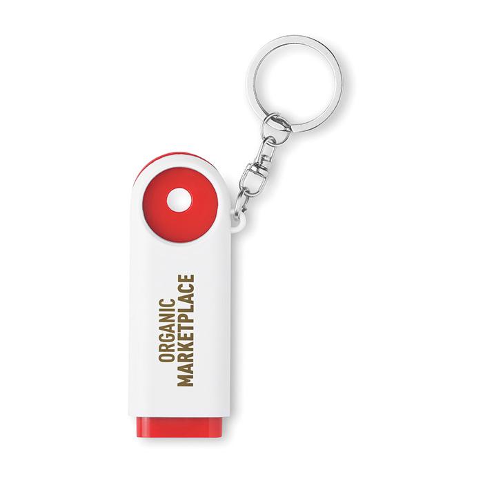 Porte-clés personnalisable Compras - porte-clés publicitaire
