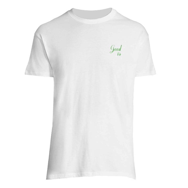 tee shirt personnalisé regent - coloris blanc