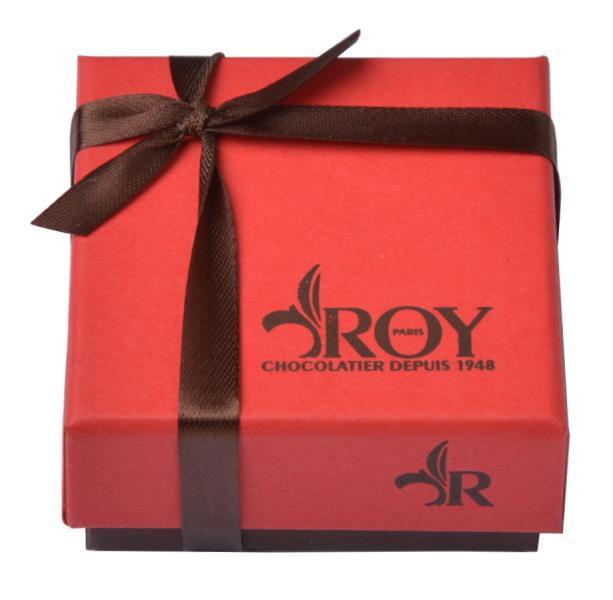 Cadeau publicitaire de fin d'année - Mini boîte de chocolats Roy 35 g