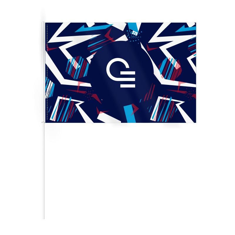 Drapeau publicitaire en rPET Ecoflag - Goodies entreprise