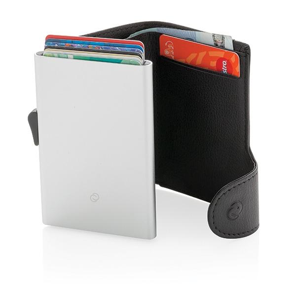Porte-cartes / Portefeuille publicitaire anti-RFID C-Secure Protek - Cadeau publicitaire