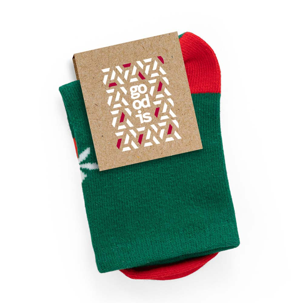 Chaussettes publicitaires pour enfant Santa 4
