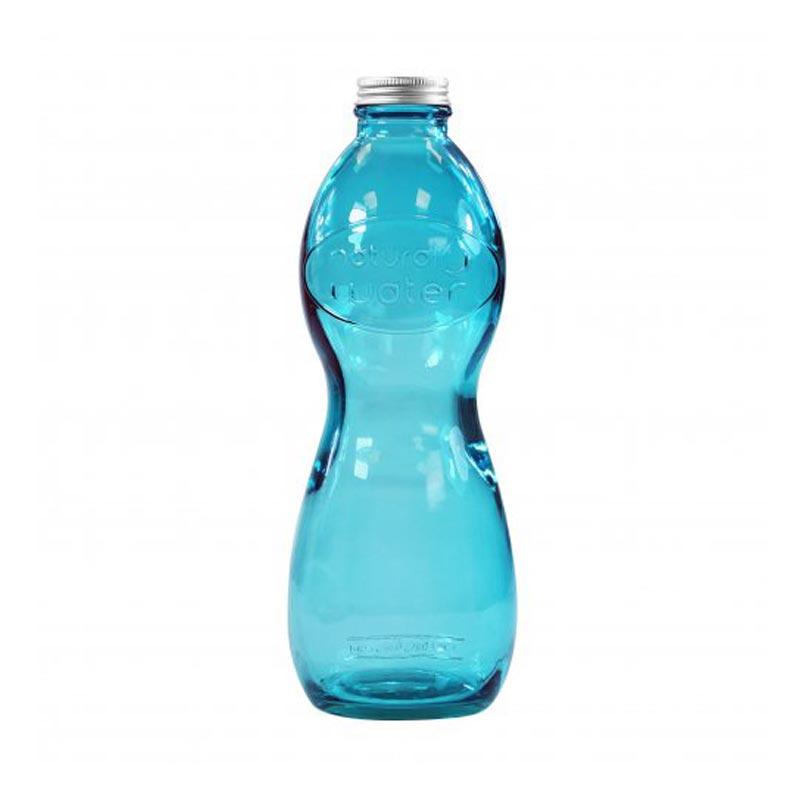 Objet publicitaire - Bouteille en verre recyclé Aqua Glouglou