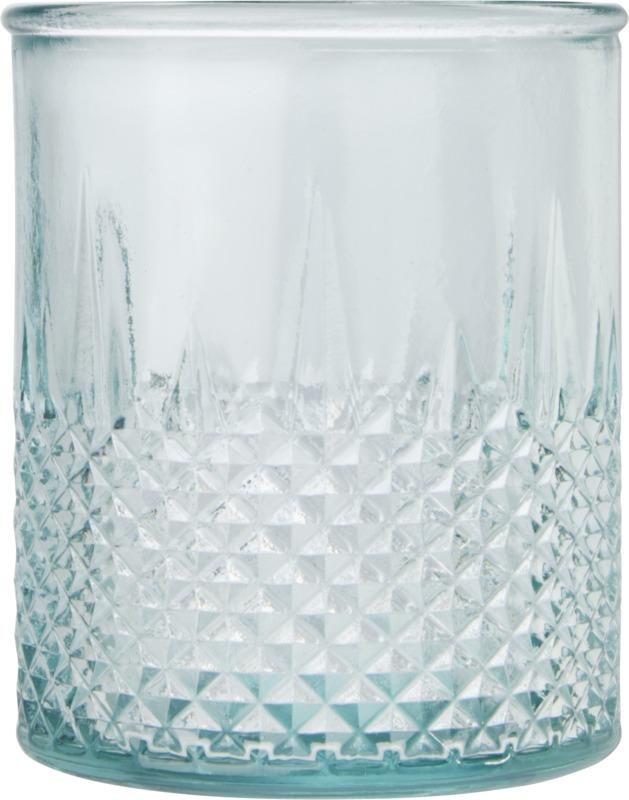 Bougeoir publicitaire en verre recyclé Estrel 2