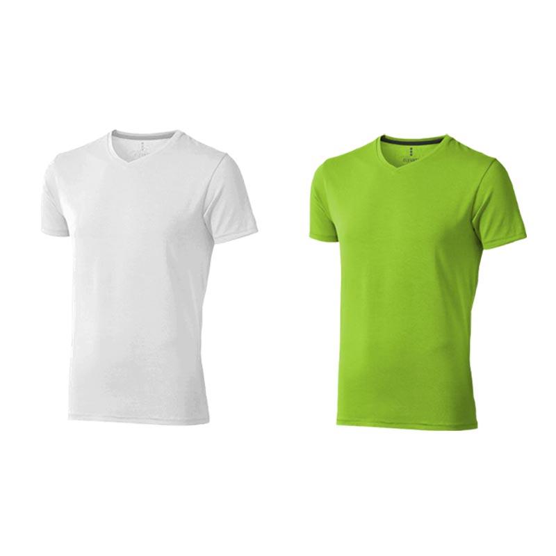T-shirt bio personnalisé manches courtes homme Kawartha - Tee-shirt bio publicitaire
