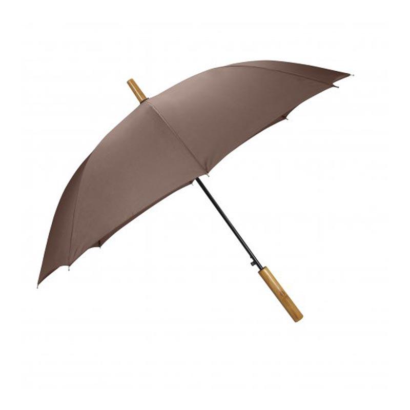 Parapluie personnalisable Lockwood - marron