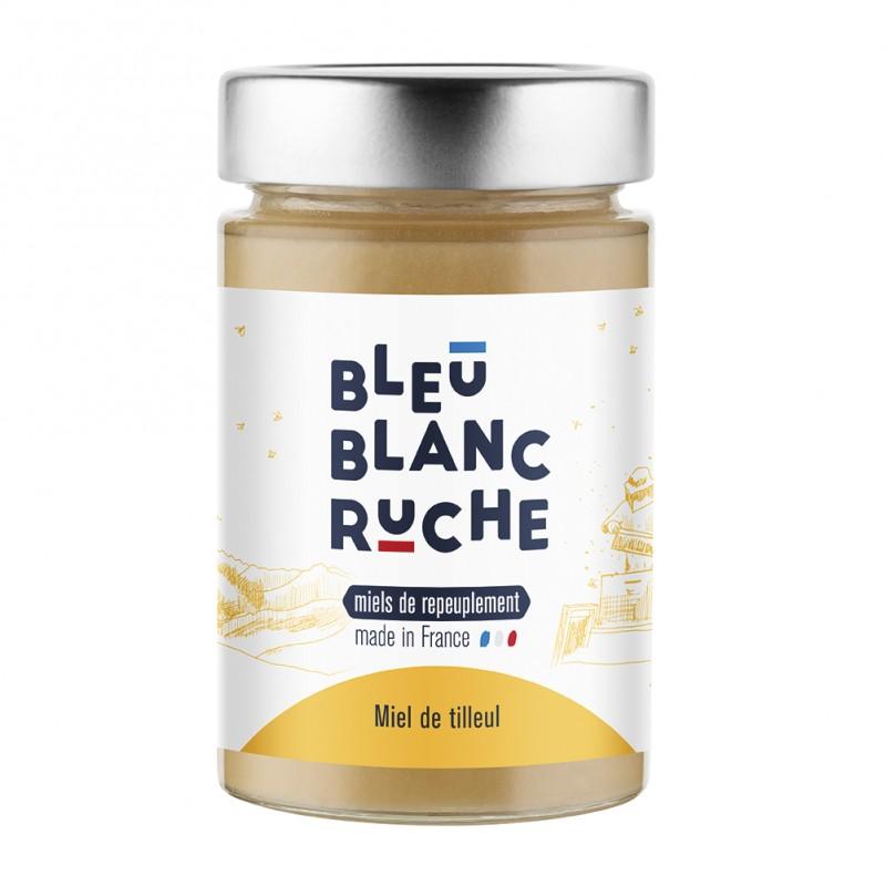 Miel de tilleul Bleu blanc Ruche - goodies