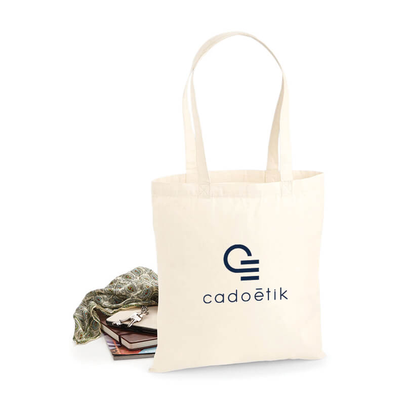 Goodies entreprise - Tote bag Coton 130G  Ecru Kanpur