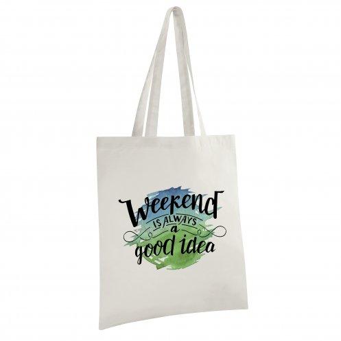 sac shopping personnalisé écologique Event écru