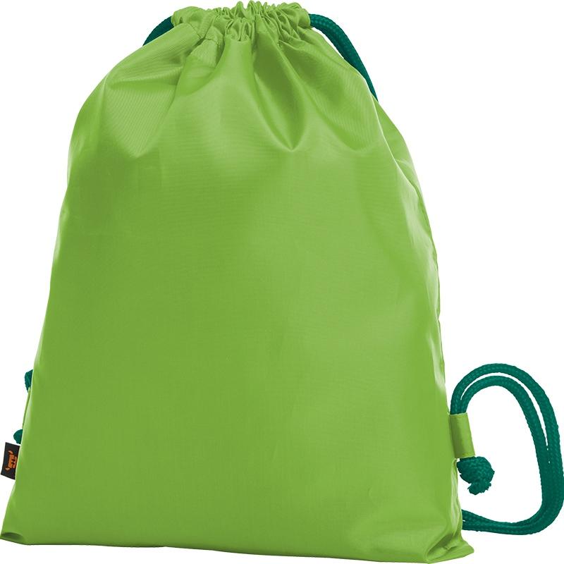 Sac à dos publicitaire bicolore Paint vert pomme - vert